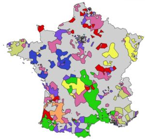 Atlas Ekipaj de la biologie médicale en France